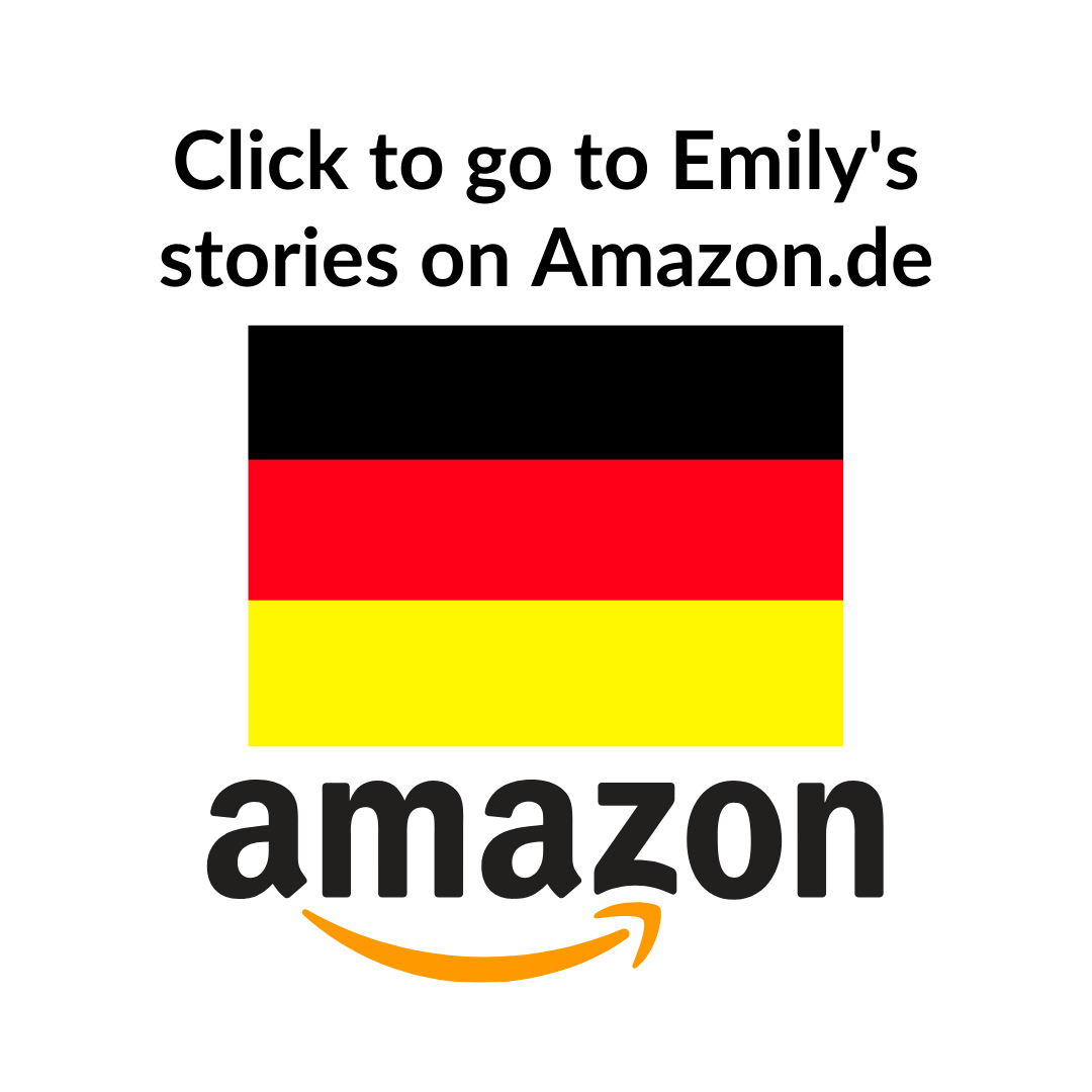 Amazon Author Central direct link to books by Emily Larkins on Amazon.de. Amazon logo.