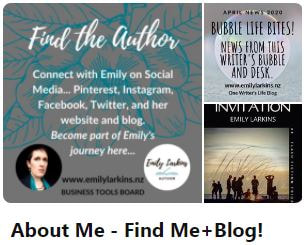 Picture link to Emily's 'About Me' board on Pinterest