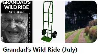 Picture Pinterest inspiration board image for Grandad's Wild Ride.