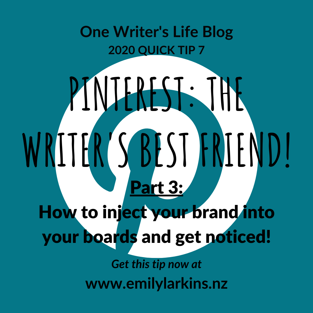 Picture link to Part 3 in the Pinterest series: inject your brand into your boards and get noticed